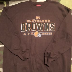 Browns sweat shirt